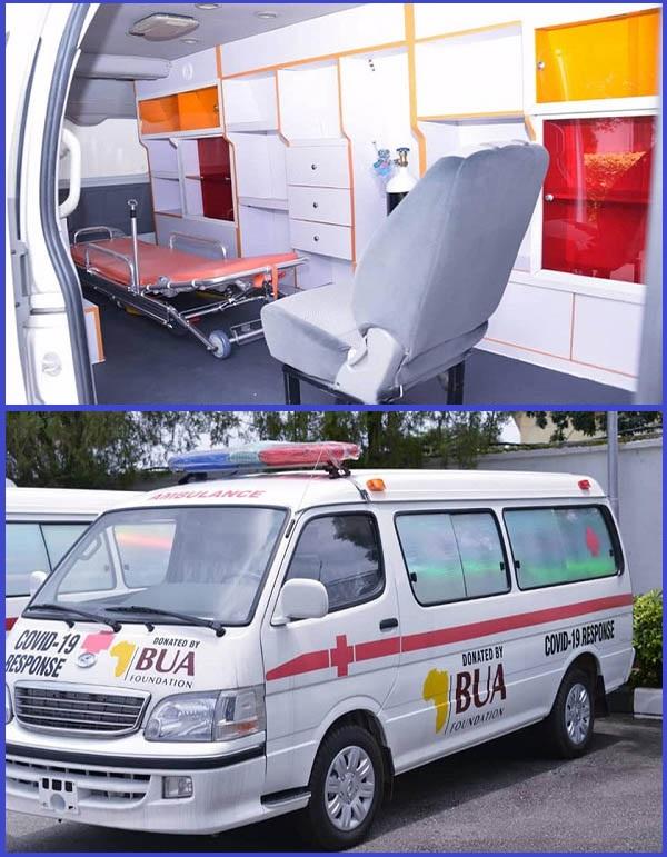 BUA-Group-donates-ambulances-to-Abia-state