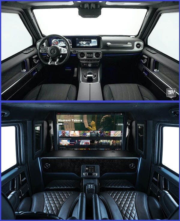 Interior-of-the-bulletproof-Mercedes-AMG-G63-VIP-limousine-by-INKAS