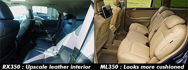 2010-Mercedes-Benz-ML-350-VS-Lexus-RX-350-back-seat