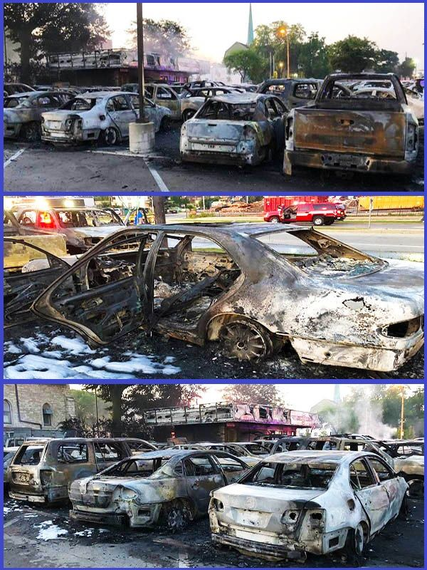 Over-100-used-cars-totally-burnt-down-by-BlackLivesMatter-protesters-in-Wisconsin-United-States
