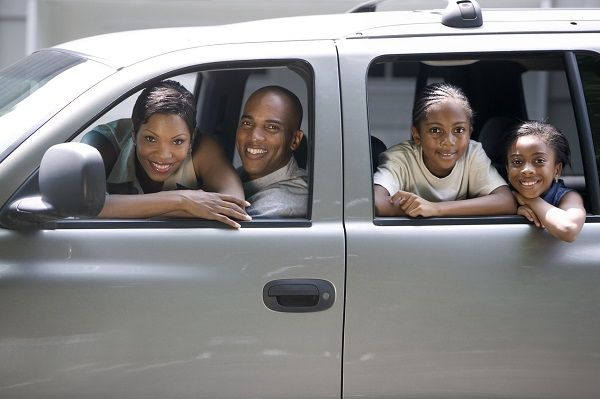 family-in-van