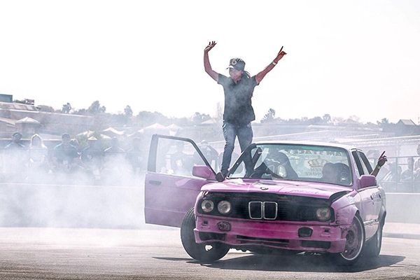 BMW-drift-car