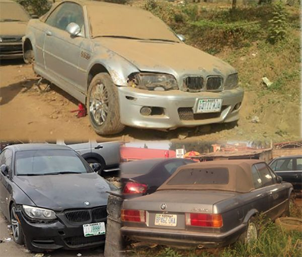 abandoned-BMW-cars-in-Nigeria