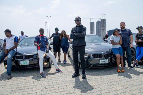 Rema-with-BMW-in-Lagos