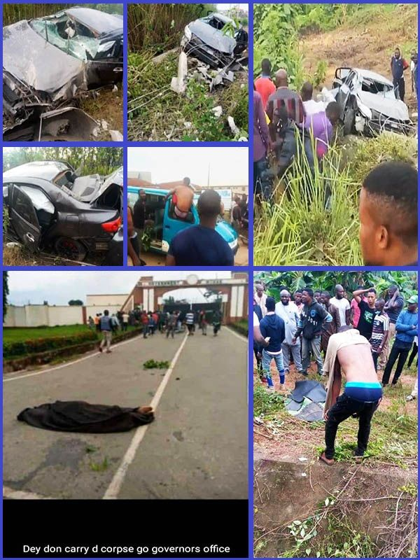 Youths-protesting-death-of-suspected-Yahoo-boy-chased-by-SARS-police