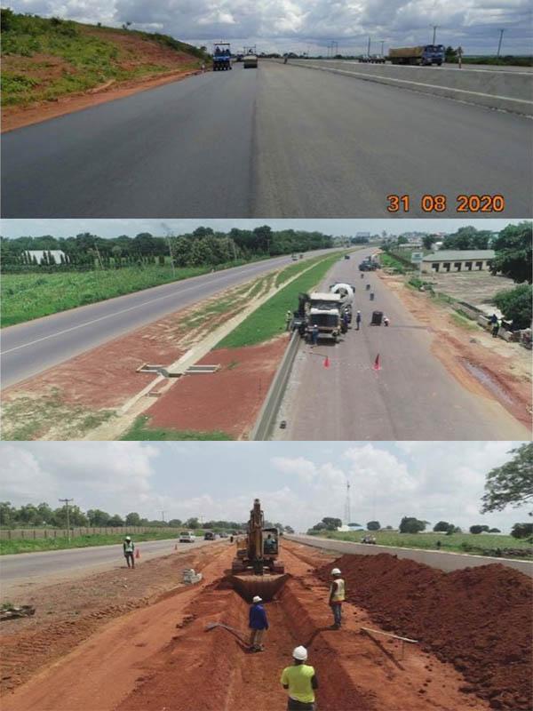 Photos-of-Abuja-Kaduna-Zaria-Kano-road-under-construction