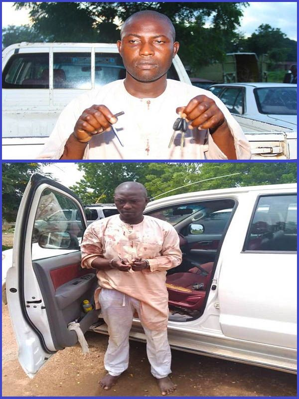 Serial-car-snatcher-arrested-by-police-in-Bauchi-state