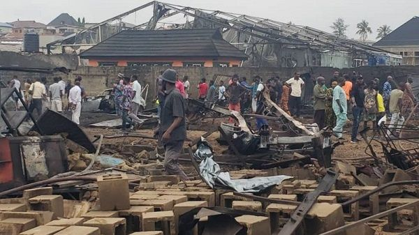 image-of-buildings-razed-in-iju-ishaga-fire-incident