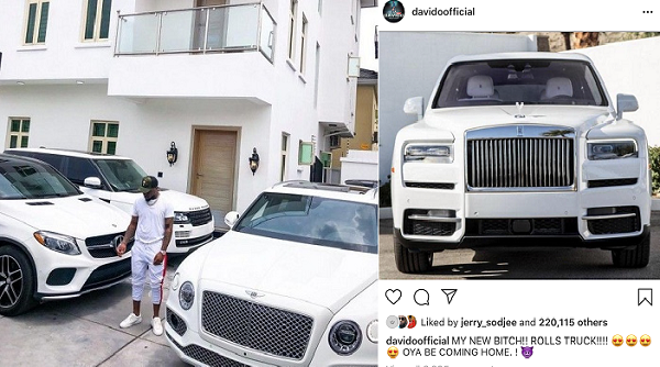 Davido-and-his-expensive-cars