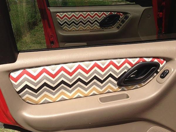 Door-mat-upholstery