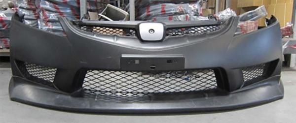 Honda-Civic-aftermarket-bumper