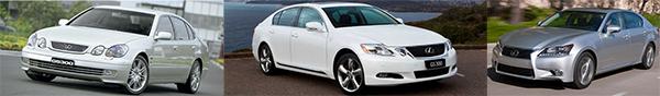 3-generations-of-the-Lexus-GS