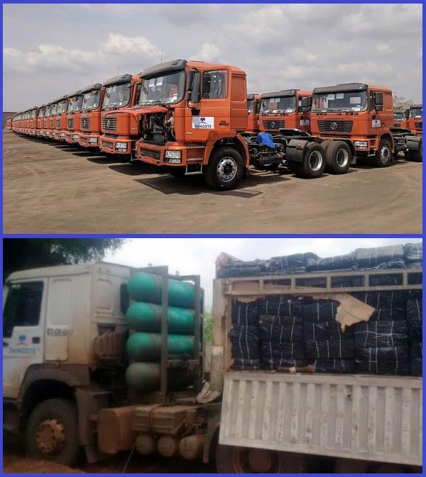 Gas-powered-Dangote-PLC-trucks