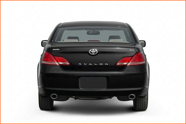Toyota-Avalon-2007-luggage-space