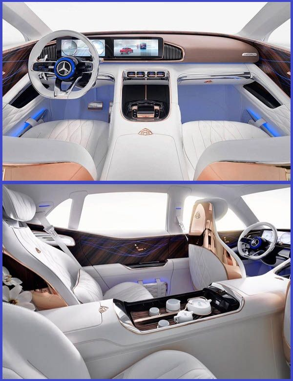 Luxury-interior-of-the-Mercedes-Maybach-SUL