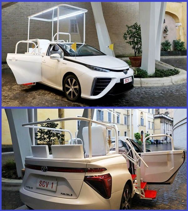 Pope-Francis-new-hydrogen-powered-Toyota-Mirai