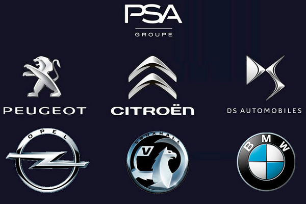 Groupe-PSA-and-car-brands