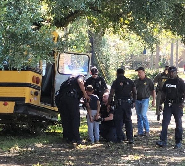 image-of-11-year-old-boy-stole-school-bus-in-US
