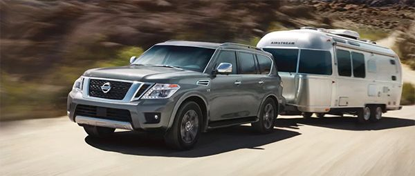 Towing-a-boat-with-an-SUV