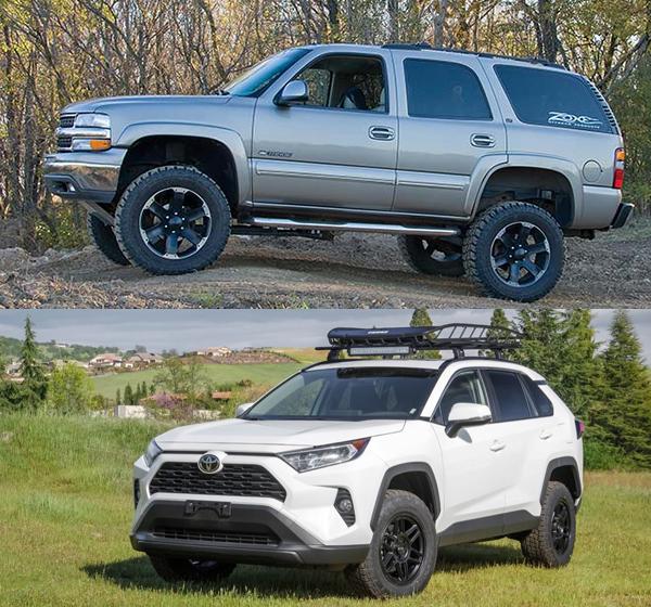 Off-road-SUV-VS-Off-road-crossover