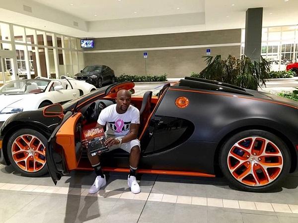 Mayweather-Bugatti car