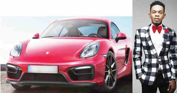 Patoranking-and-his-red-porsche