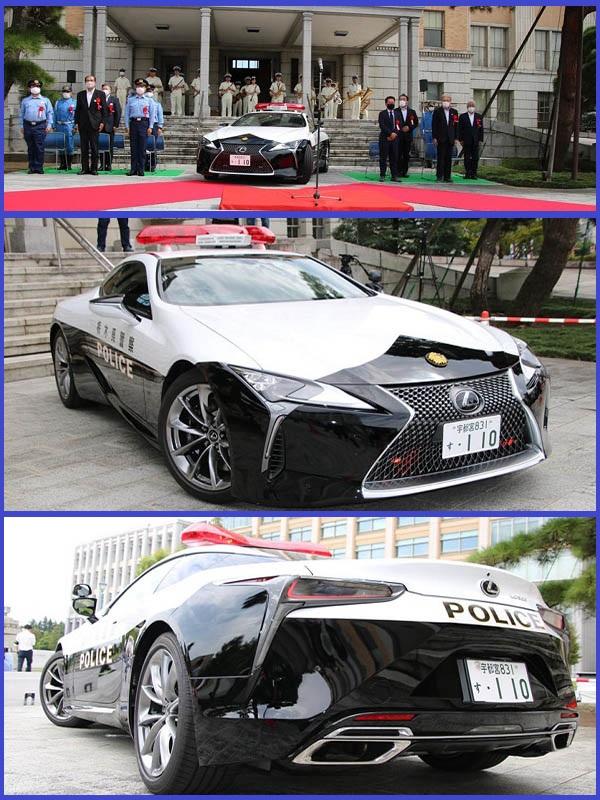 New-Lexus-LC-500-Japanese-police-car