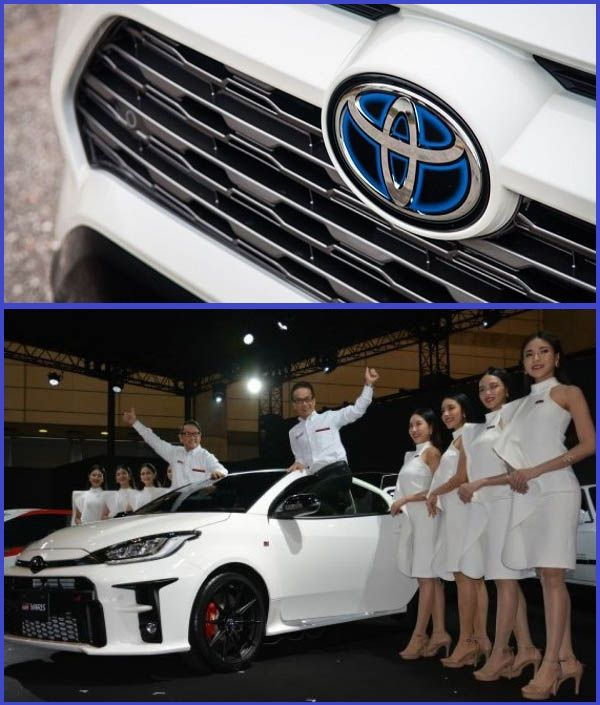 Toyota-officials-poses-for-a-celebration-photo