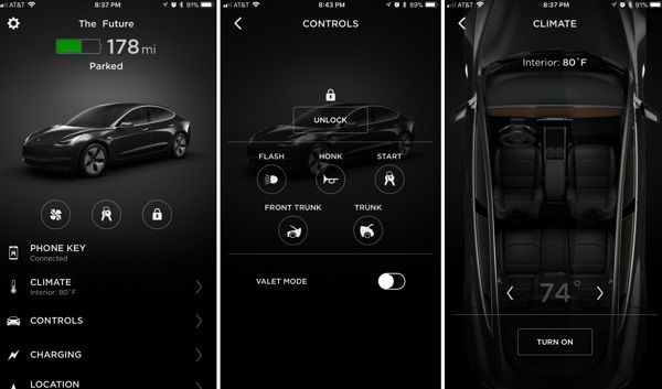 image-of-tesla-model-3-app-on-the-phone