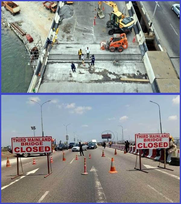 Lagos-3rd-Mainland-bridge-closed