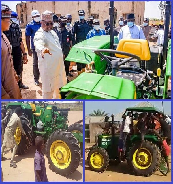 New-tractors-recovered-from-looters-in-Adamawa-state
