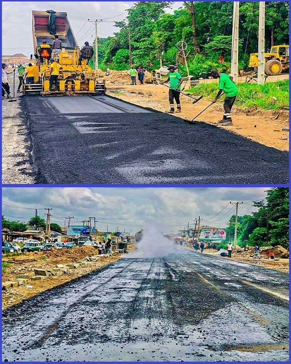 Olomore-Brewery-road-under-reconstruction-in-Ogun-state