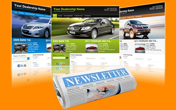 online car website newsletter