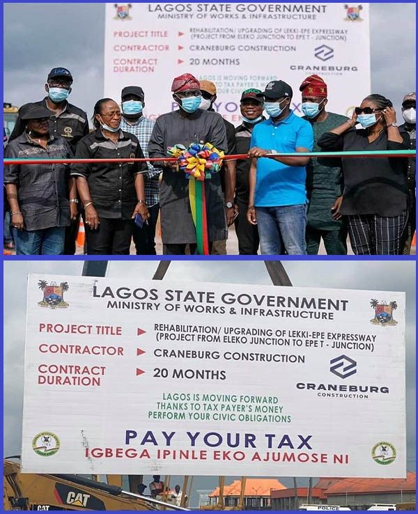 Lagos-governor-inaugurating-reconstruction-of-Ibeju-Lekki-Epe-Expressway