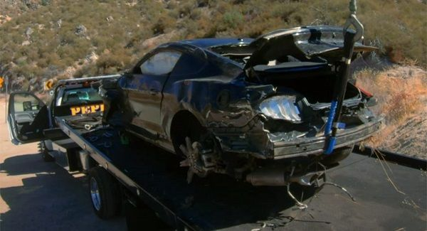 image-of-ford-mustang-rolled-off-cliff-in-California