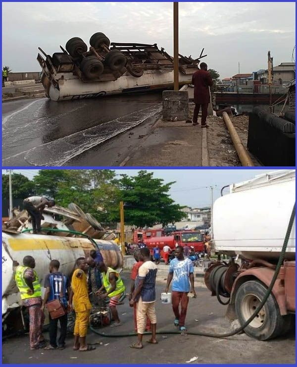 LASEMA-officials-and-some-residents-clearing-up-accident-scene-on-Festac-Link-Brigde-Lagos
