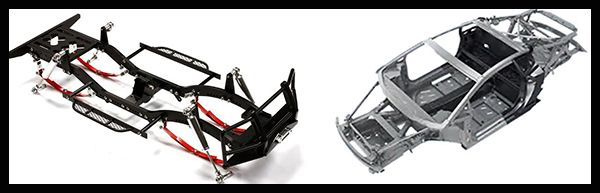 SUV-Chassis-VS-Unibody-chassis