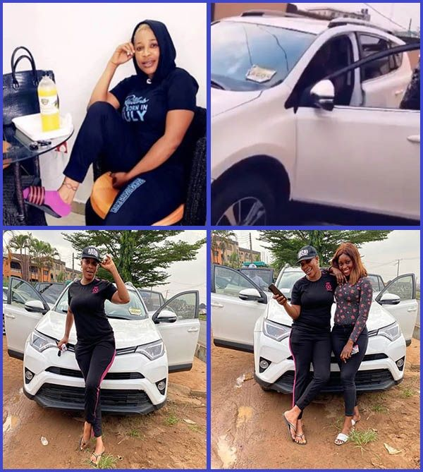 Nollywood-Actress-Kemi-Korede-poses-with-her-new-2018-Toyota-RAV4-SUV