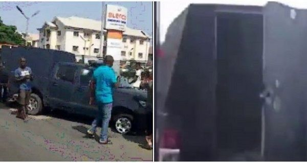 image-of-bullion-van-attack-in-lagos