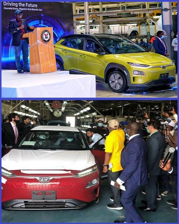 Governor-Sanwo-Olu-unveiling-the-first-locally-assembled-electric-car-in-Nigeria