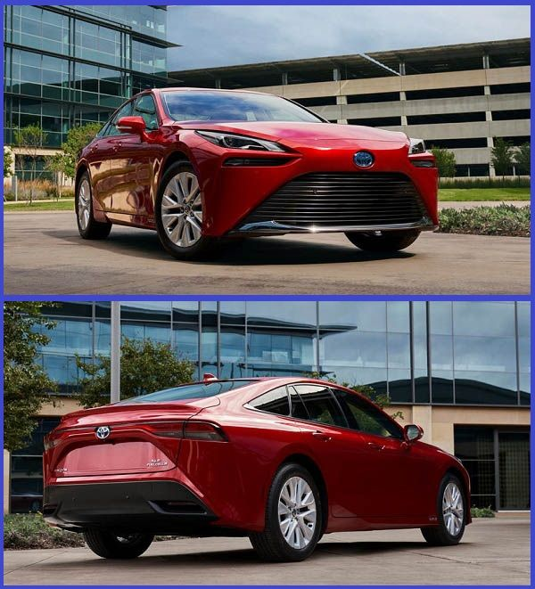 Hydrogen-powered-2021-Toyota-Mirai-luxury-sedan