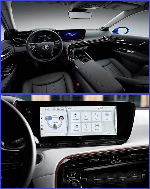 Interior-of-the-2021-Toyota-Mirai-luxury-sedan