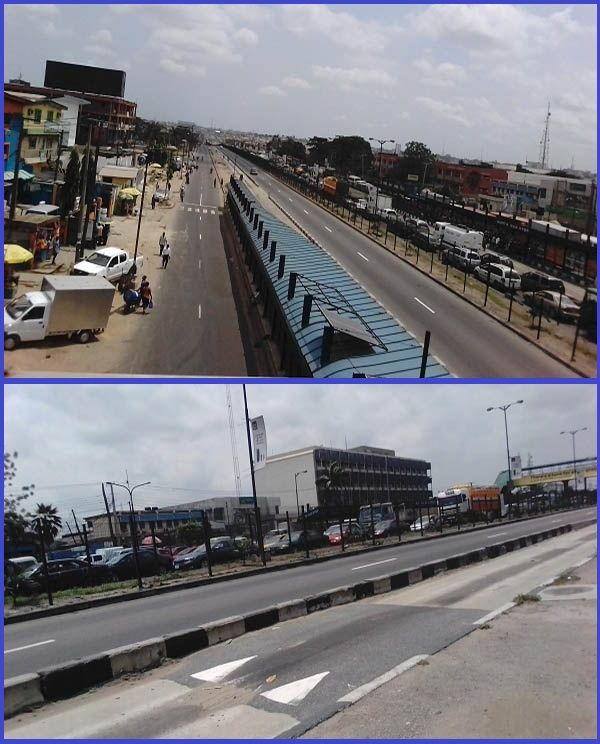 Photo-showing-parts-of-a-road-along-the-Maryland-Ojota-Service-lane-in-Lagos