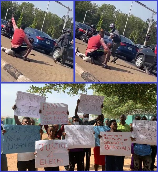Photo-of-Newspaper-vendor-shot-in-Abuja-and-people-protesting-after-his-death