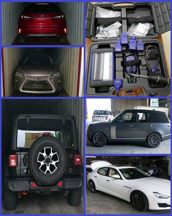 Photos-of-Stolen-vehicles-bound-for-Nigeria-that-were-recovered-by-Canadian-police