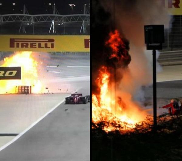 image-of-Grosjean-crash-in-bahrain