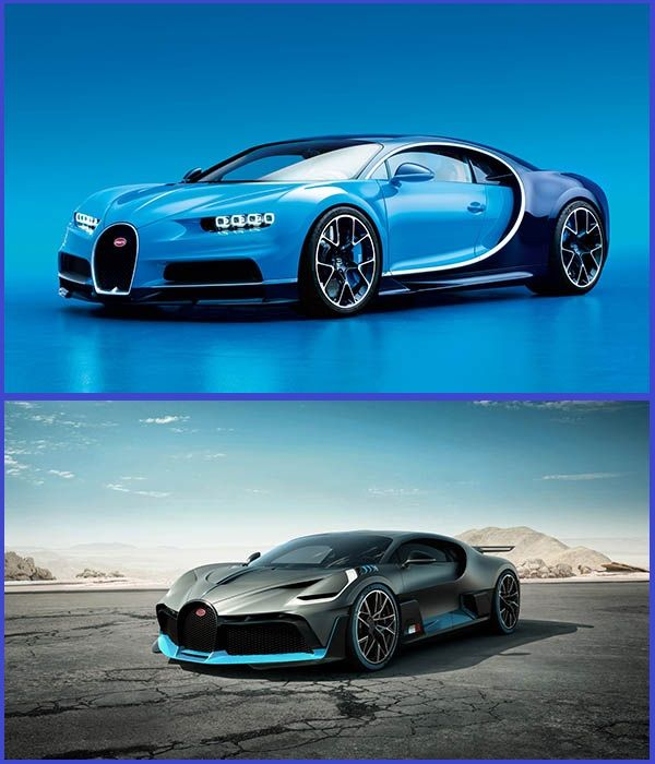 Bugatti-Chiron-and-Bugatti-Divo-hypercars