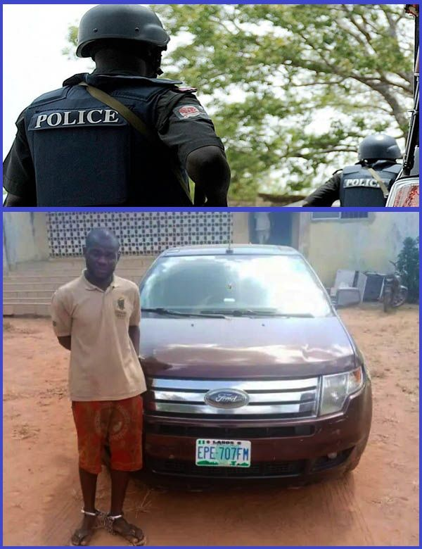 Photo-of-Lagos-Car-washer-arrested-by-police-for-running-away-with-the-car-of-a-customer
