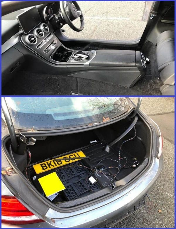 Photos-of-the-Mercedes-Coupe-that-was-recently-attacked-by-professional-thieves-in-England