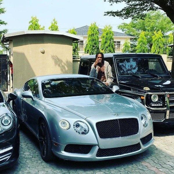 Photo-of-Naira-Marley-and-his-cars